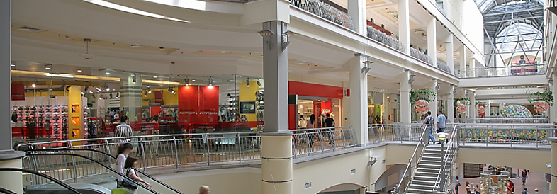 Shopping centre case study image banner