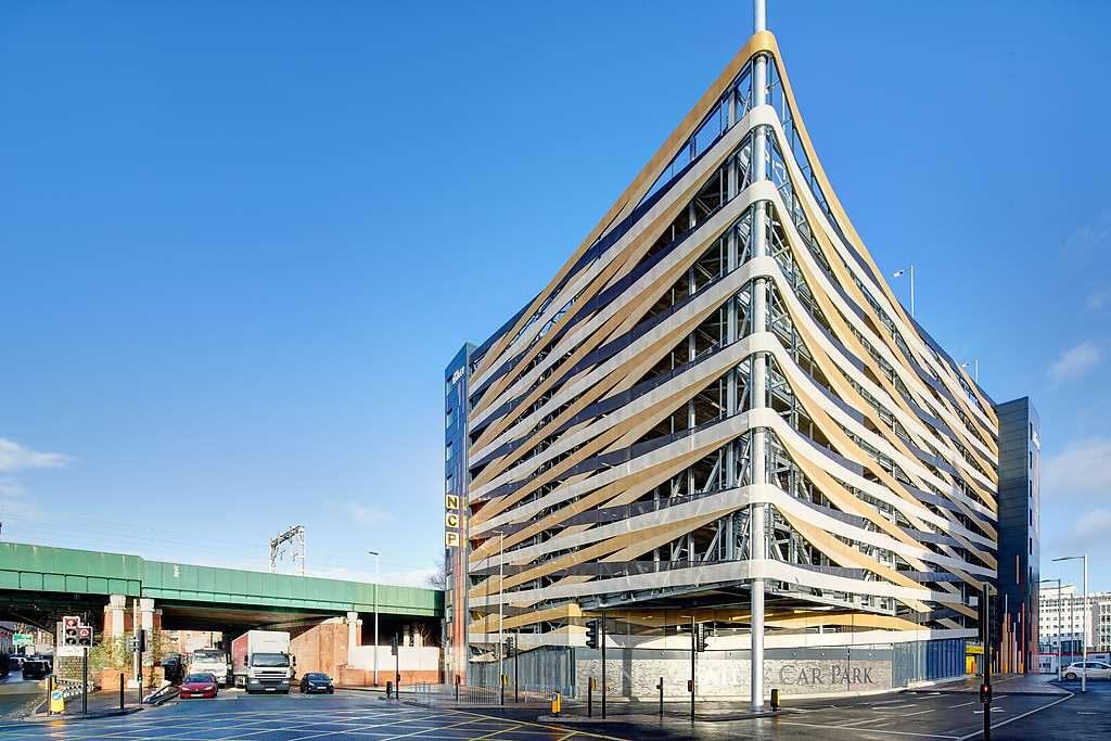 NCP - Salford New Bailey car park British parking award