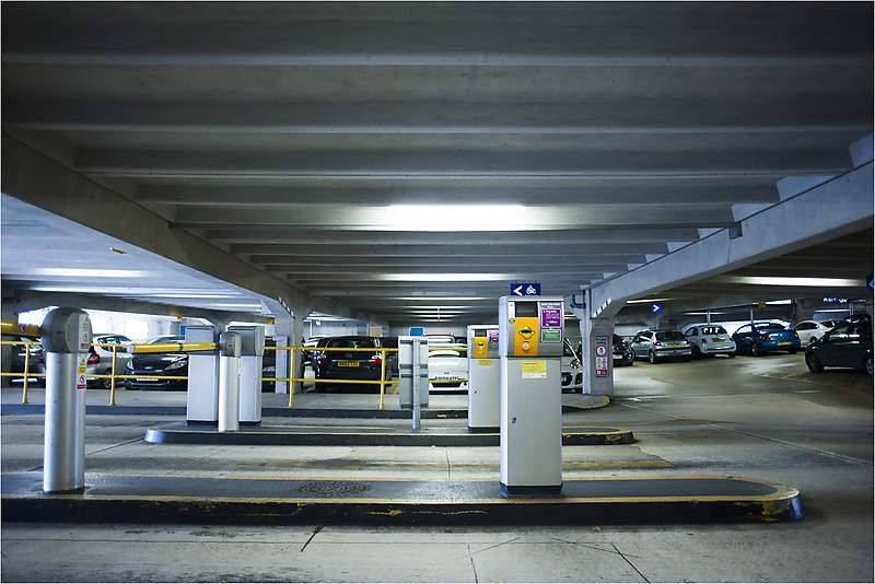 Technology solutions - car park barrier